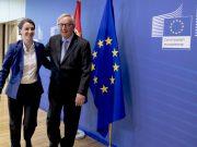 Ana Brnabić i Žan-Klod Junker; Foto: Evropska komisija
