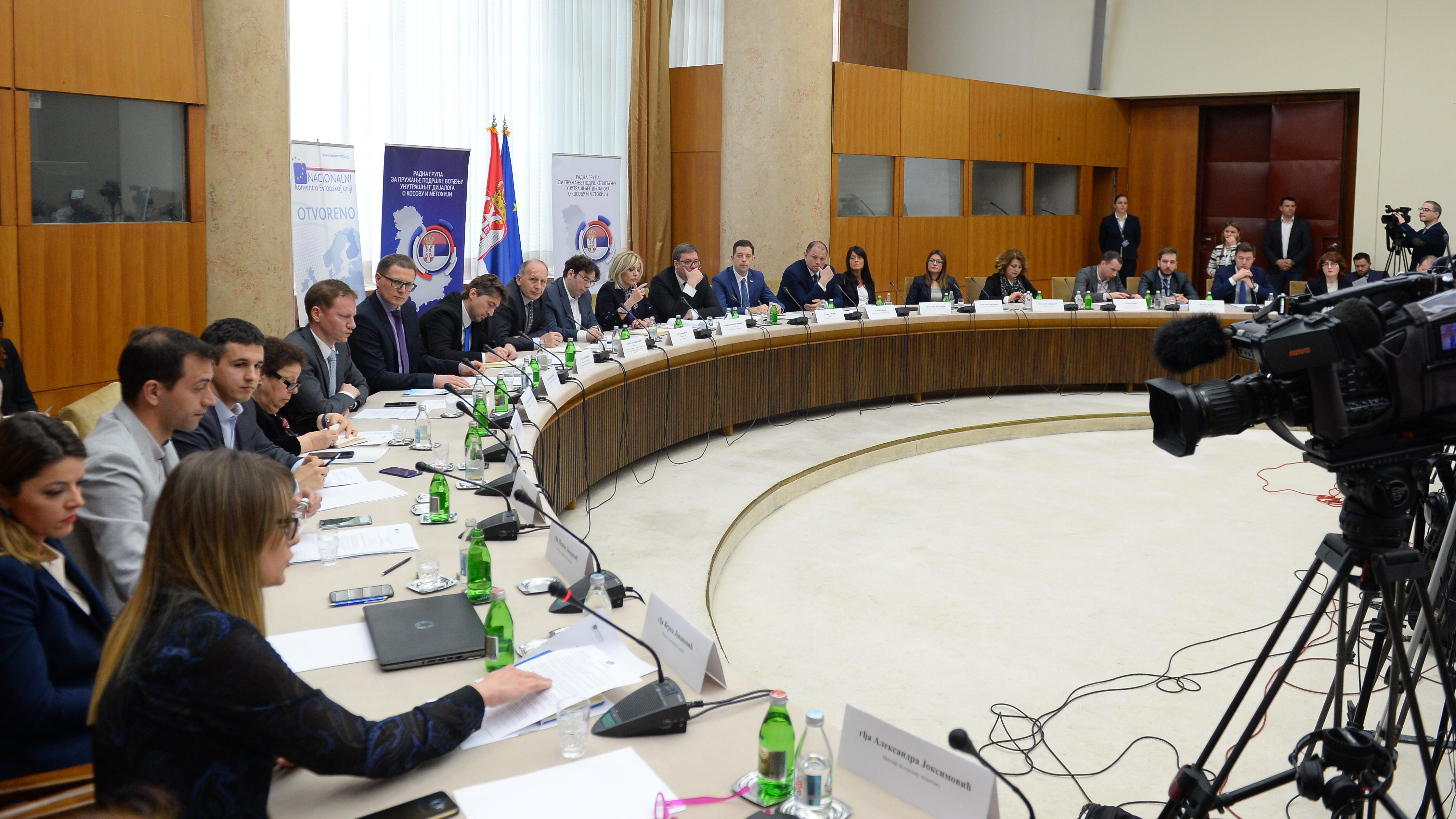 Sastanak RG 35 sa predstavnicima vlast, 2018; Foto: Tanjug / Tanja Valić / bg
