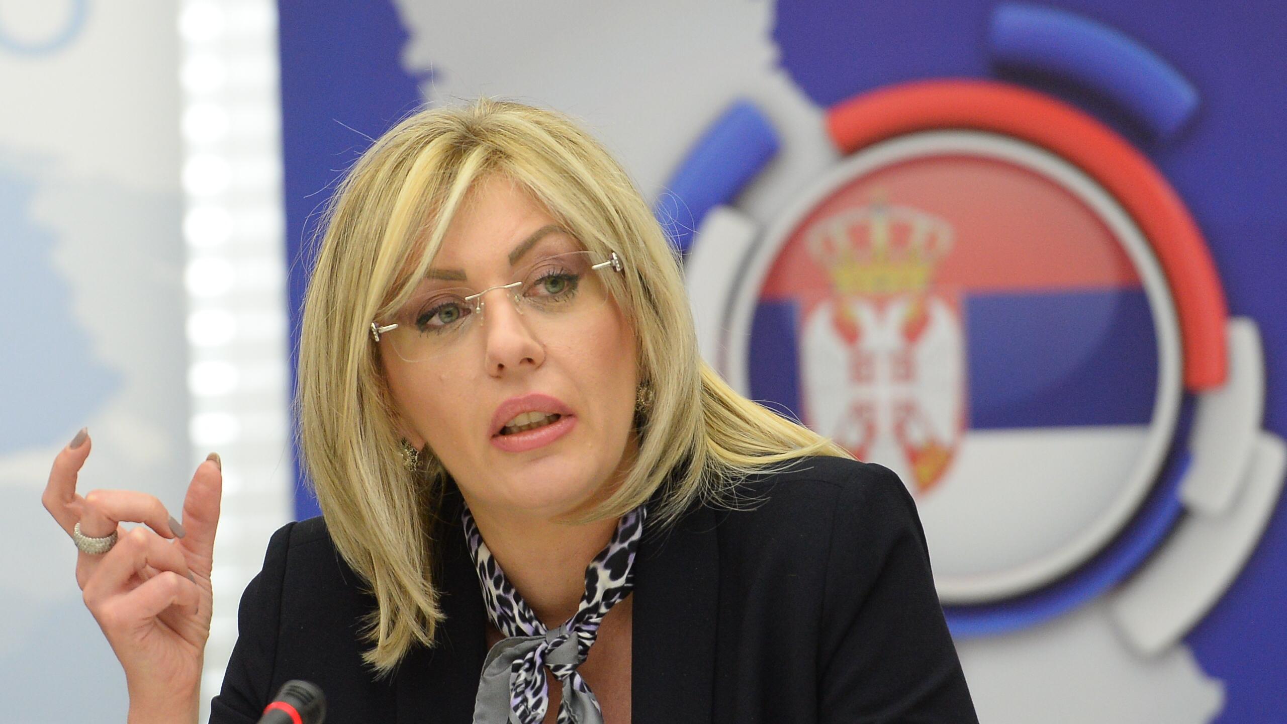 Ministarka za evropske integracije Jadranka Joksimović; Foto: Tanjug / Tanja Valić / bg