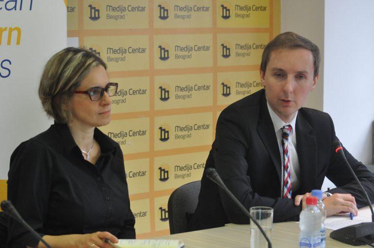 Ana Marjanović Rudan i Andžej Kinđuk; Foto: Medija Centar