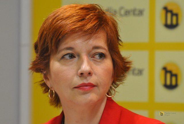 Nataša Vučković; Foto: Medija centar Beograd