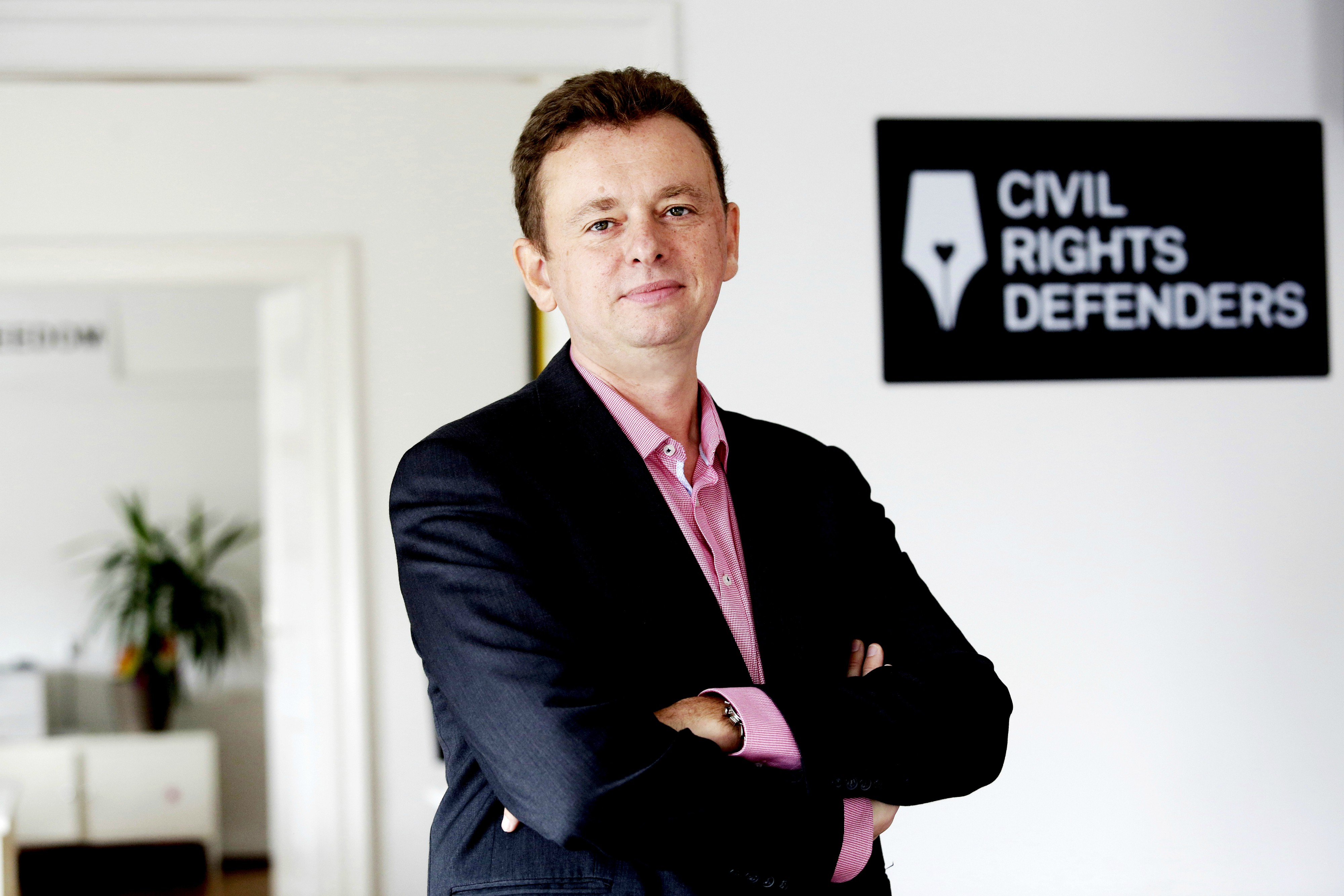 Goran Miletić; Foto: Civil Rights Defenders
